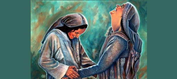 Elizabeth & Mary rejoicing